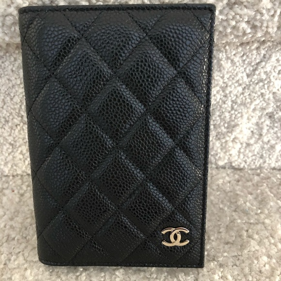 Brand new and Rare Chanel passport holder  NWT